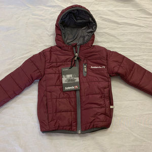 NWT AVALANCHE BOYS HOODED LIGHTWEIGHT JACKET 12M